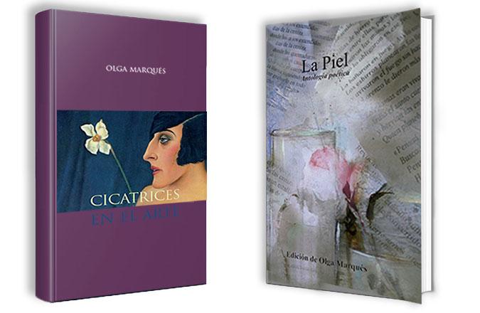 Olga Marqués Serrano. Autora Cicatrices en el Arte y La Piel, Antología poética